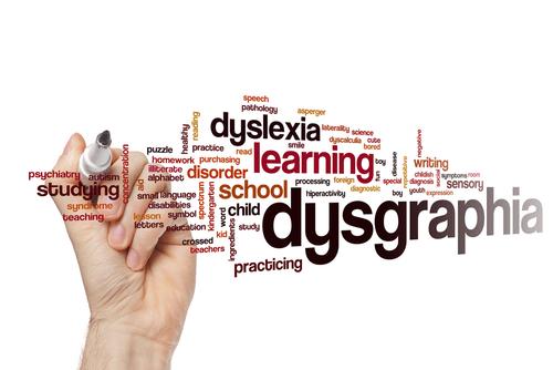 Dysgraphia_word cloud