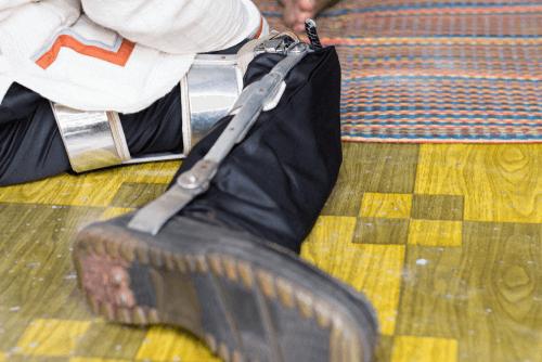 Polio knee brace