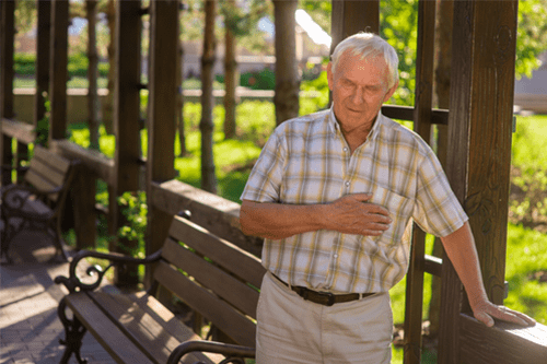 costochondritis troubled breathing