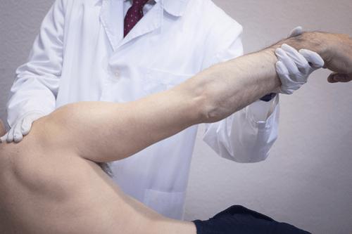 shoulder fracture exam