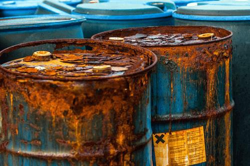 Chromium toxicity contamination