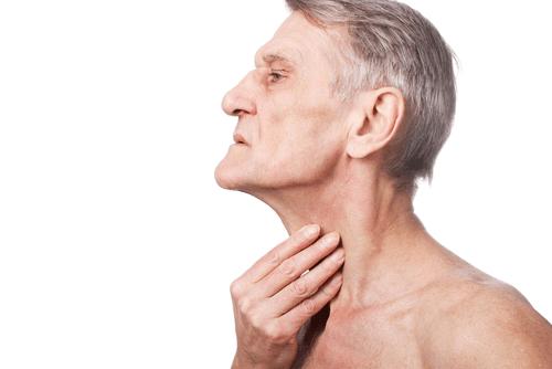 myasthania gravis swallowing pain