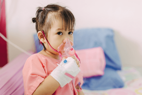 Pneumonia among children