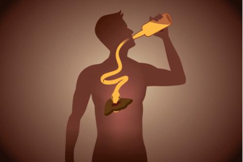 ACUTE LIVER FAILURE alcohol