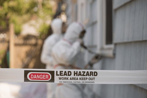 Lead poisoning hazard