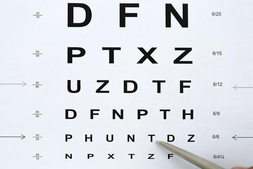 hypermetropia vision test