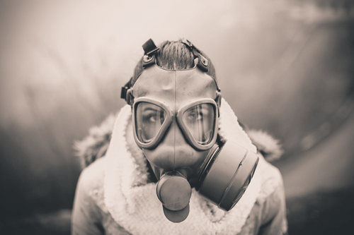 ASBESTOSIS gas mask