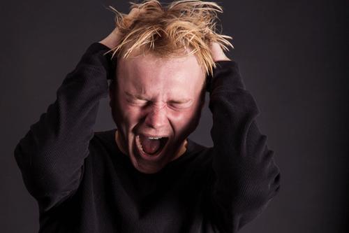 Anxiety and panic teenager