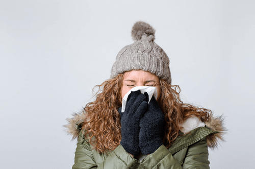COLD INTOLERANCE sneezing