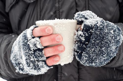FROSTBITE fingers