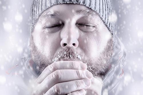 Hypothermia man