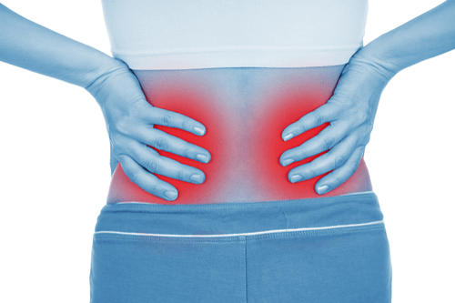 Kidney infections pain