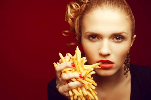 Binge Eating Disorder fries