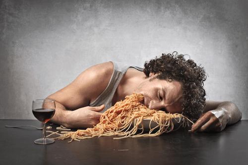 Binge Eating Disorder man