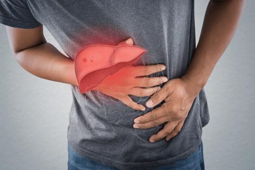 Liver failure pain