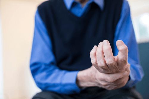 Rheumatoid Arthritis man