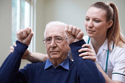 Sensory processing stroke