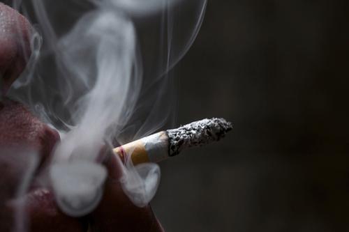 Throat cancer smoking