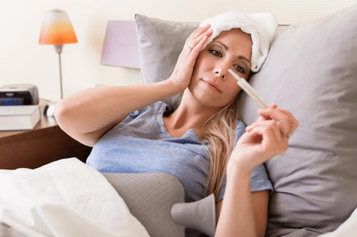 Viral meningitis fever