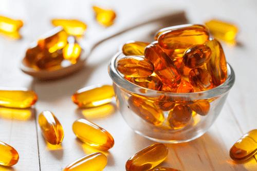 Vitamins capsule