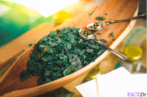 Spirulina salad