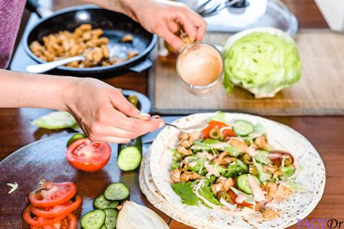 Chicken fajita healthy