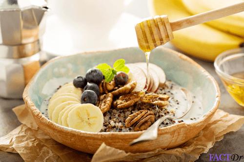 Panera bread oatmeal honey quinoa