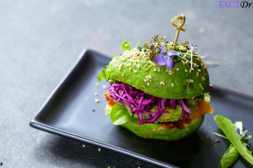 Whole30 diet avocado burger
