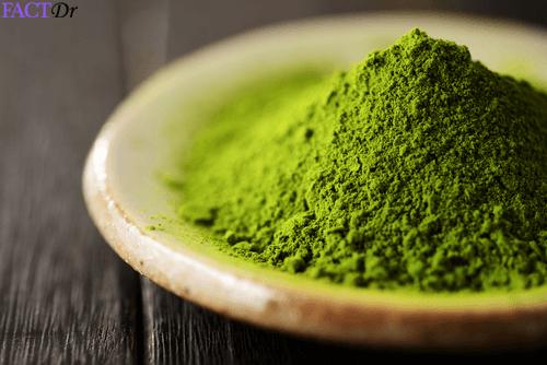 matcha tea chlorophyll