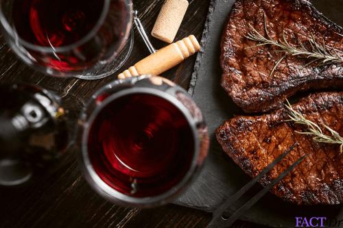 sex life wine meat