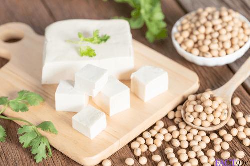 iron food tofu