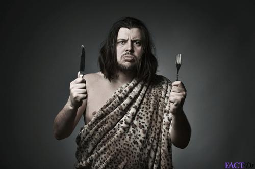 Paleo diet man