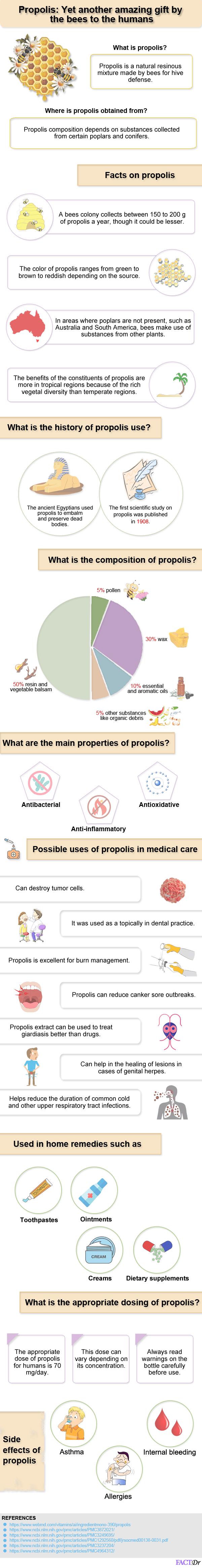 Propolis-infographics
