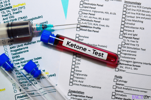 blood ketone test