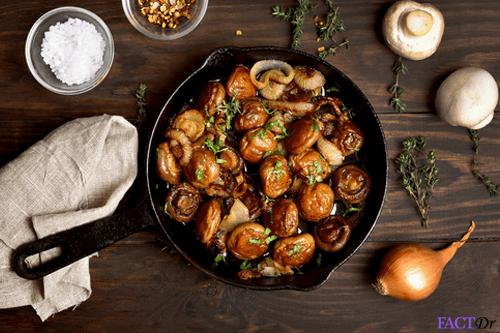 shiitake mushroom dish