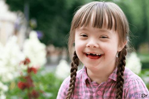 Happy laughing cute girl