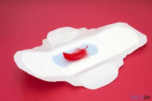 Period sanitary napkin-menstruaion-blood-colors